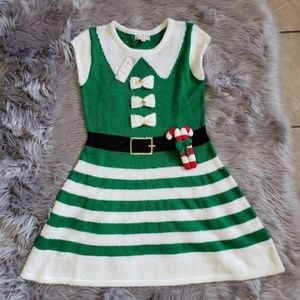 NWT It's Our Time Christmas Holiday dress sz M